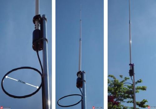 Antena base HF D-Original Out-250-F